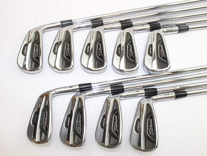 Titleist 712 AP2 Iron Set 3-PW GW True Temper Dynalite Gold XP Steel Regular Right Handed 39.25in