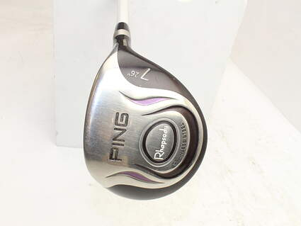 Ping Rhapsody Fairway Wood 7 Wood 7W 26° Ping ULT 129F Ladies Graphite Ladies Right Handed 41.25in