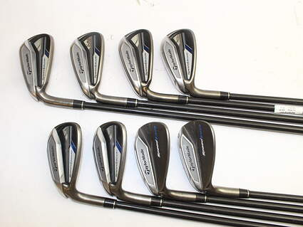 TaylorMade Speedblade Iron Set 5-PW GW SW TM Velox-T Graphite Graphite Stiff Left Handed 39.25in