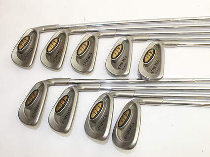 Ping i3 Blade Iron Set 3-SW Ping JZ Steel Stiff Right Handed Blue Dot 38.0in
