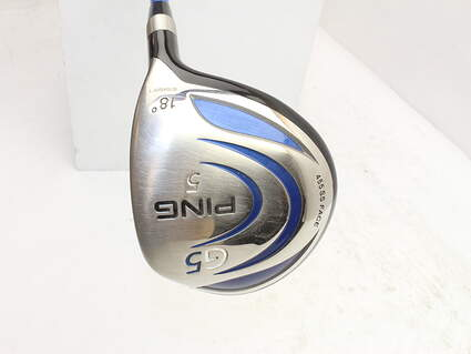 Ping G5 Fairway Wood 5 Wood 5W 18° Callaway Grafalloy Pro Launch Graphite Regular Right Handed 42.0in