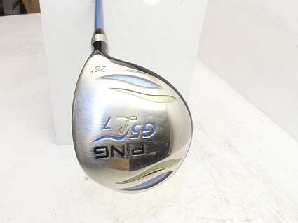 Ping G5 Fairway Wood 7 Wood 7W 26° Ping ULT 50F Ladies Graphite Ladies Right Handed 41.0in