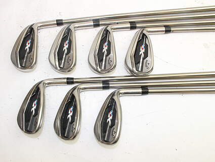 Callaway XR Iron Set 5-GW UST Mamiya Recoil 460 F2 Graphite Senior Right Handed 38.0in