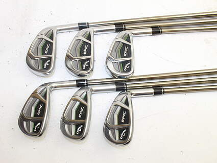 Callaway Epic Iron Set 5-PW UST Mamiya Recoil 760 ES Graphite Regular Right Handed 38.0in