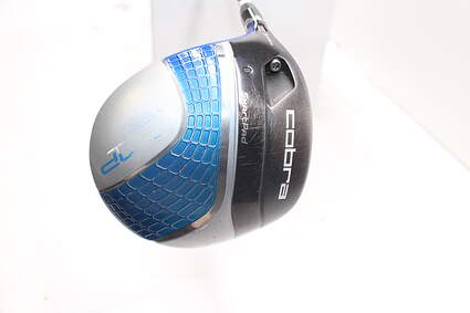 Cobra AMP Cell Blue Driver 11.5° Cobra Fujikura Fuel Graphite Senior Left Handed 45.75in