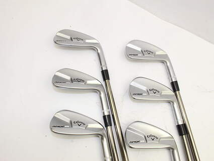 Callaway 2014 APEX MB Iron Set 5-PW UST Mamiya Recoil 95 F3 Steel Regular Right Handed 37.75in