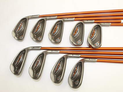 Ping G10 Iron Set 4-PW SW LW Ping TFC 129I Graphite Regular Right Handed Black Dot 45.5in