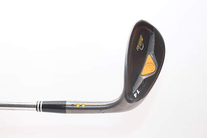 Cleveland CG14 Gunmetal Wedge Gap GW 8 Deg Bounce Cleveland Traction Wedge Steel Wedge Flex Right Handed 35.75in