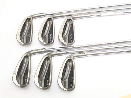 Ping G25 Iron Set 5-PW Ping CFS Steel Regular Right Handed Green Dot 38.0in
