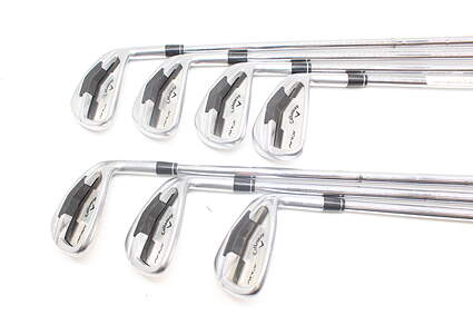 Callaway Apex Iron Set 4-PW True Temper Dynamic Gold S300 Steel Stiff Right Handed 37.0in