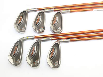 Ping G10 Iron Set 5-PW Ping TFC 129I Graphite Regular Right Handed Yellow Dot 38.25in