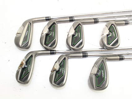 TaylorMade RocketBallz Iron Set 5-GW TM RBZ Steel Steel Stiff Right Handed 38.5in