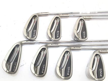 Ping G25 Iron Set 5-GW Ping CFS Steel Regular Right Handed Black Dot 37.5in