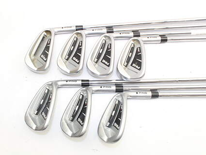 Ping I20 Iron Set 5-PW Ping CFS Steel Regular Right Handed Black Dot 38.0in