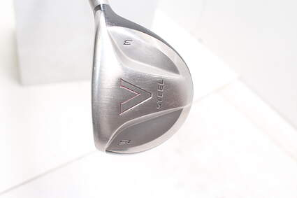 TaylorMade V Steel Fairway Wood 3 Wood 3W 15° TM M.A.S.2 Graphite Stiff Right Handed 43.0in