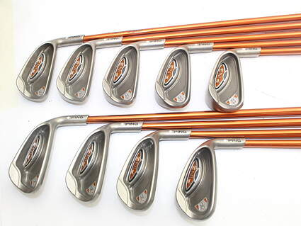 Ping G10 Iron Set 3-PW GW Ping TFC 129I Graphite Regular Right Handed White Dot 38.25in