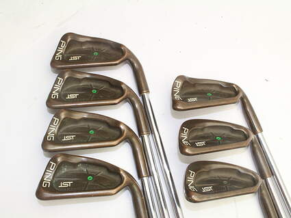 Ping ISI Beryllium Copper Iron Set 5-PW SW Steel Stiff Right Handed 37.75in