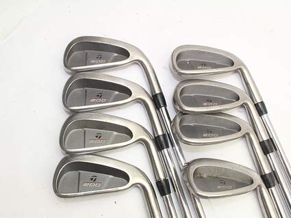 TaylorMade 200 Steel Iron Set 3-PW TM S-90 Steel Stiff Right Handed 38.0in