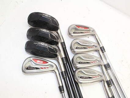 Adams Idea A3 Iron Set 3H 4H 5H 6-PW Stock Graphite Shaft Steel Regular Right Handed 38.0in