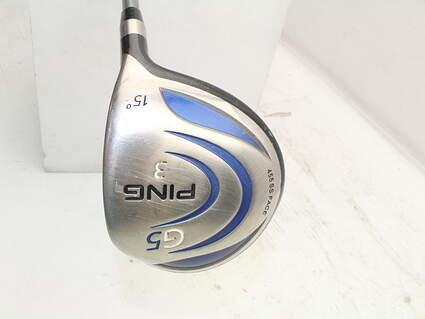 Ping G5 Fairway Wood 3 Wood 3W 15° Ping TFC 100F Graphite Stiff Right Handed 43.0in