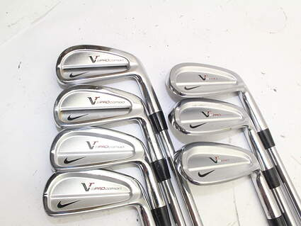 Nike Victory Red Pro Combo Iron Set 5-PW True Temper Dynamic Gold S300 Steel Stiff Right Handed 39.0in