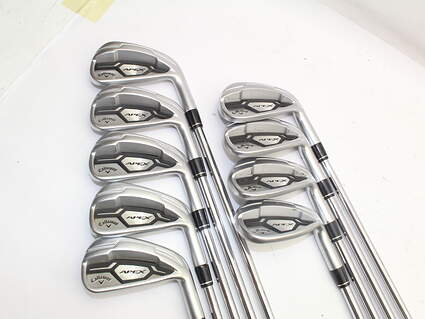 Callaway Apex CF16 Iron Set 3-PW GW True Temper XP 95 R300 Steel Regular Right Handed 37.75in