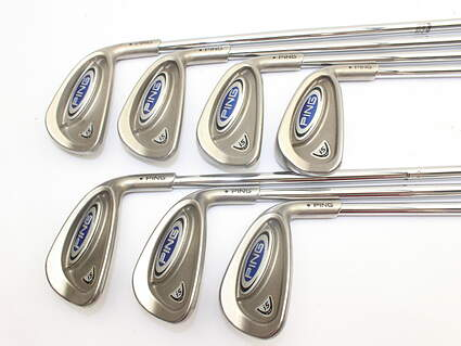 Ping i5 Iron Set 4-PW Ping CS Lite Steel Regular Right Handed Black Dot 37.25in
