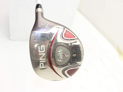 Ping Faith Fairway Wood 7 Wood 7W 26° Ping ULT 200 Ladies Graphite Ladies Right Handed 41.0in