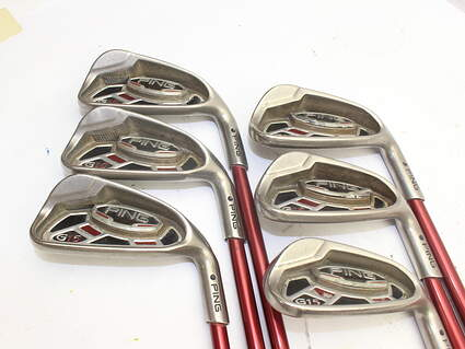 Ping G15 Iron Set 5-PW Ping TFC 149I Graphite Regular Right Handed Black Dot 37.75in