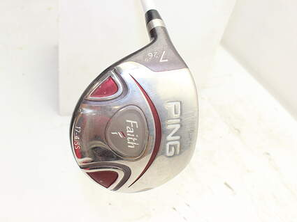 Ping Faith Fairway Wood 7 Wood 7W 26° Ping ULT 200 Ladies Graphite Ladies Left Handed 41.0in