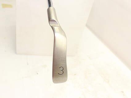 Ping i3 Blade Single Iron 3 Iron Stock Steel Shaft Steel Stiff Right Handed Orange Dot 38.75in