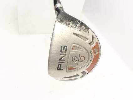 Ping G10 Draw Fairway Wood 7 Wood 7W 21° Ping TFC 129F Graphite Stiff Right Handed 41.75in
