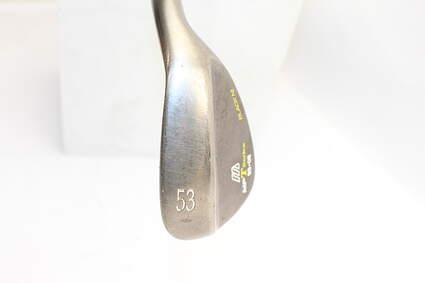 Mizuno 2008 MP-T Series Black Nickel Wedge Gap GW 53° 8 Deg Bounce Steel Right Handed 35.5in
