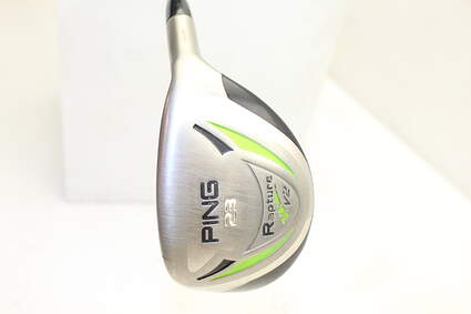 Ping Rapture V2 Hybrid 4 Hybrid 23° Accra AXIV Series XH 85 Graphite Stiff Right Handed 39.5in