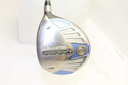 TaylorMade 2007 Burner Steel Fairway Wood 7 Wood 7W 21° TM Reax Superfast 50 Graphite Ladies Right Handed 41.0in