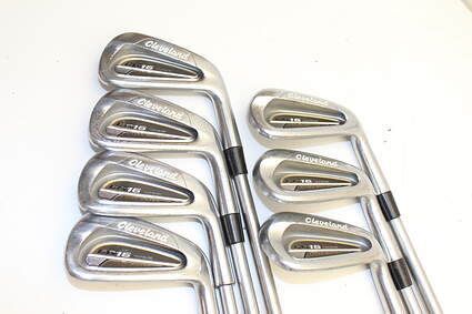 Cleveland CG16 Tour Satin Chrome Iron Set 4-PW FST KBS Tour C-Taper Steel Right Handed 38.5in