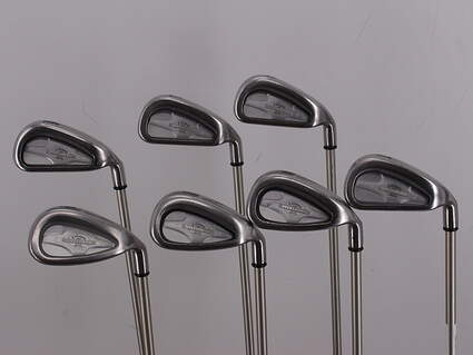 Callaway X-14 Iron Set 4-PW Stock Graphite Shaft Graphite Ladies Right Handed 37.0in