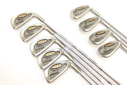 Ping i3 Blade Iron Set 5-LW True Temper Dynalite Gold 300 Steel Regular Right Handed 37.75in