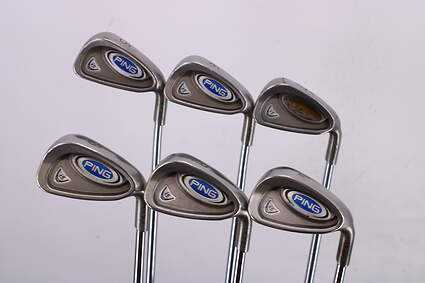 Ping i5 Iron Set 5-PW True Temper XP 95 S300 Steel Stiff Right Handed Green Dot 38.0in