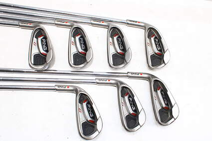 Ping G20 Iron Set 5-PW GW Ping CFS Steel Senior Left Handed Red dot 38.0in