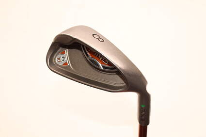 Ping G10 Single Iron 8 Iron Ping TFC 129I Graphite Senior Right Handed Green Dot 37.0in