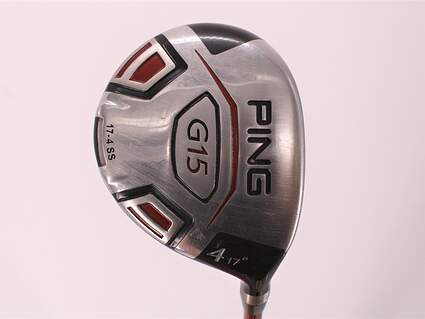 Ping G15 Draw Fairway Wood 4 Wood 4W 17° Ping TFC 149F Graphite Stiff Right Handed 45.0in