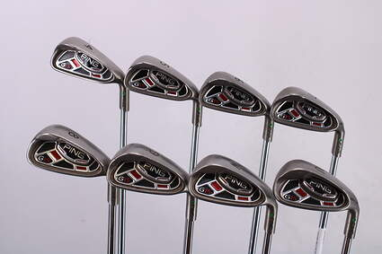 Ping G15 Iron Set 4-GW Ping AWT Steel Regular Right Handed Green Dot 38.5in