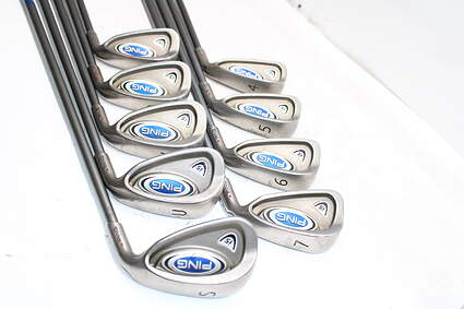 Ping i5 Iron Set 4-PW GW SW Ping TFC 100I Graphite Regular Right Handed Red dot 38.0in
