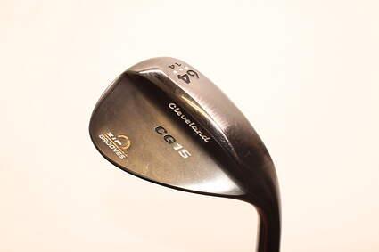 Cleveland CG15 Black Pearl Wedge Lob LW 64° 14 Deg Bounce Stock Steel Shaft Steel Wedge Flex Right Handed 35.0in