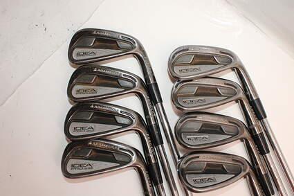 Adams Idea Pro A12 Iron Set 4-GW FST KBS Tour 90 Steel Stiff Right Handed 39.0in