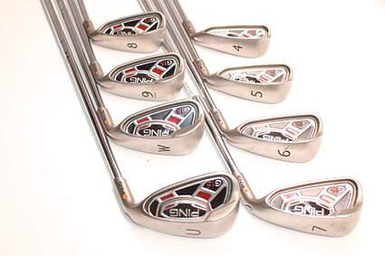 Ping G15 Iron Set 4-GW Ping AWT Steel Regular Right Handed Orange Dot 37.75in