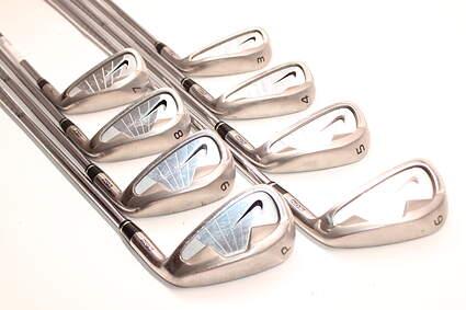 Nike NDS Iron Set 3-PW Stock Steel Shaft Steel Uniflex Right Handed 38.0in