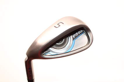 Ping Gmax Wedge Sand SW Ping CFS Distance Steel Senior Left Handed Blue Dot 35.25in