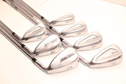Ping G700 Iron Set 5-GW Ping AWT Steel Stiff Right Handed Red dot 38.25in